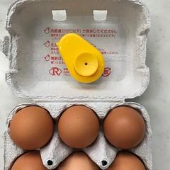 ゆで卵がうまく剥けないもんだい