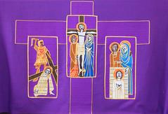 Lenten altar frontal