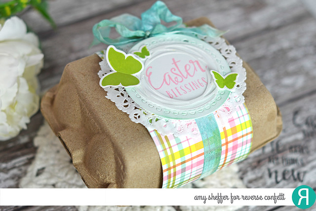 Egg Carton Easter Gift