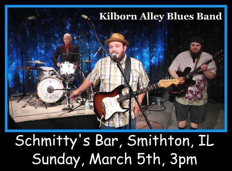 Kilborn Alley Blues Band 3-5-17