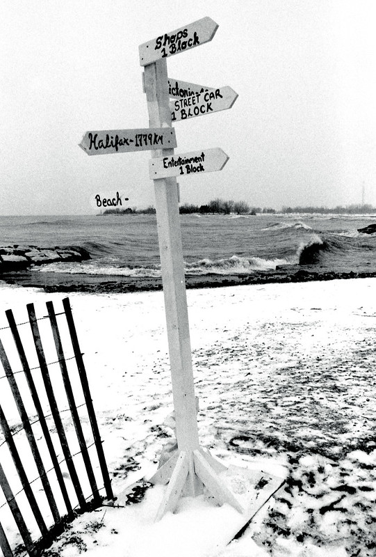 Beaches Signpost