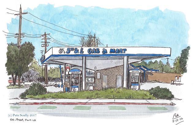 5th and L Gas Mart, Davis