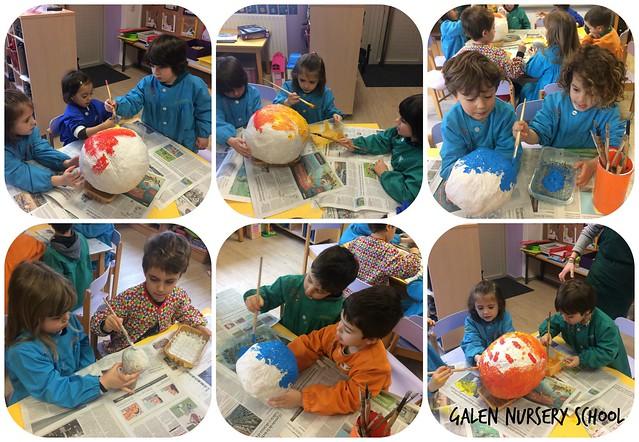 pintando planetas