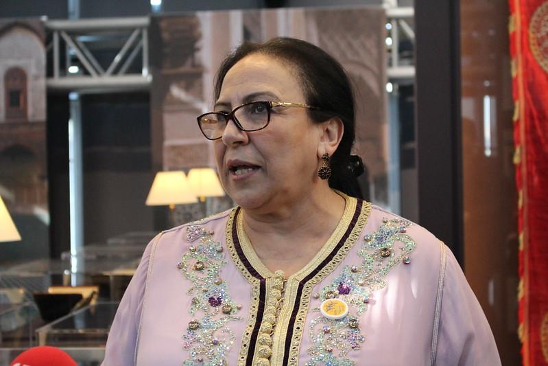 Bahija Simou, directrice des Archives Royales - Splendeurs de l'écriture au Maroc, Manuscrits rares et inédits à l'Institut du monde arabe