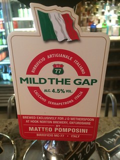 Birrificio MC-77 (Hook Norton), Mild The Gap, Italy (England)