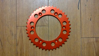 XAM sprocket for KTM