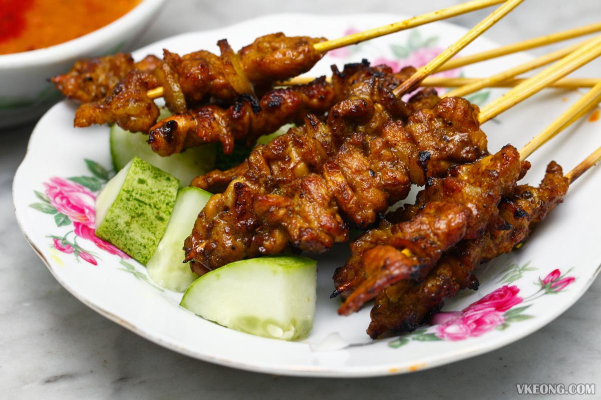 Hainanese Pork Satay Melaka