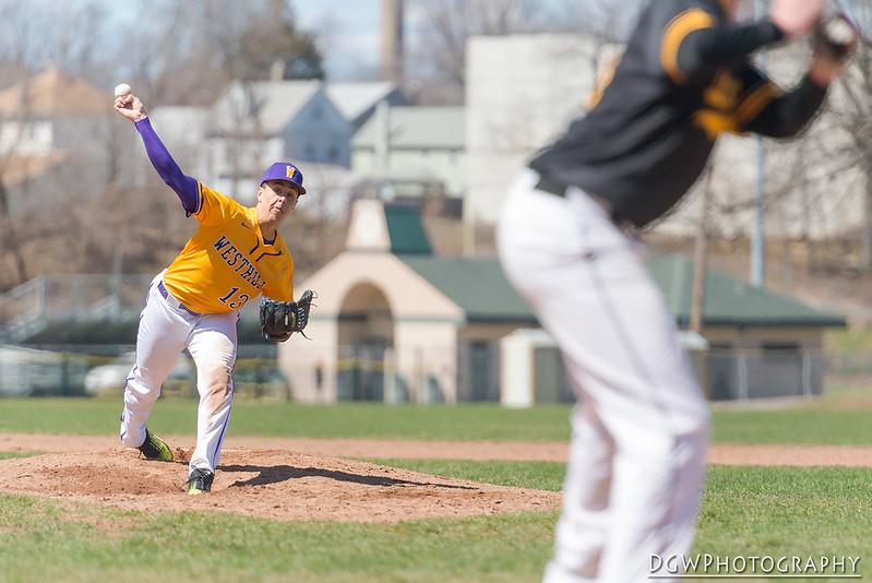 Jonathan Law vs. Westhill High - High School baseball