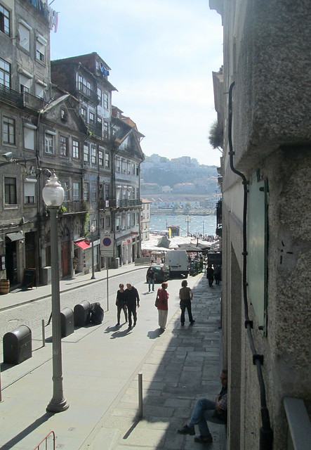 Street leading to River Douro, Porto