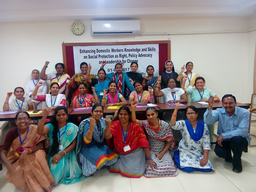 2017-4-1 India: Capacity Building on Enhancing Domestic Workers Knowledge and Skills