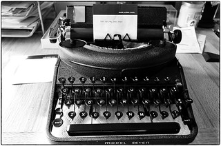 Remington Model Seven Noiseless Typewriter, October 03, 2014 | by Maggie Osterberg