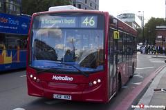 Alexander Dennis Enviro200 - LK12 AXZ - DE1330 - Metroline - King's Cross London - 140926 - Steven Gray - IMG_0312