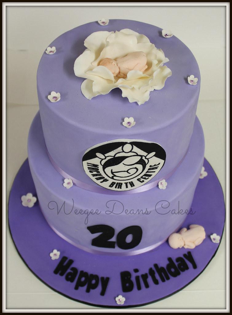 Mackay Birth Centre 20th Birthday Cake Louise Goss Flickr