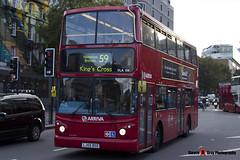 Dennis Trident 2 Alexander ALX400 - LJ55 BSO - VLA156 - Arriva - King's Cross London - 140926 - Steven Gray - IMG_0364