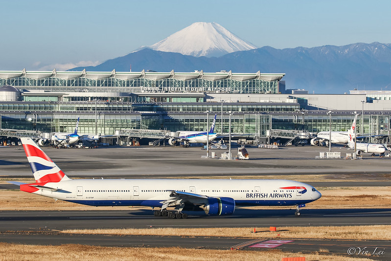 G-STBF British Airways ブリティッシュ・エアウェイズ Boeing 777-300ER