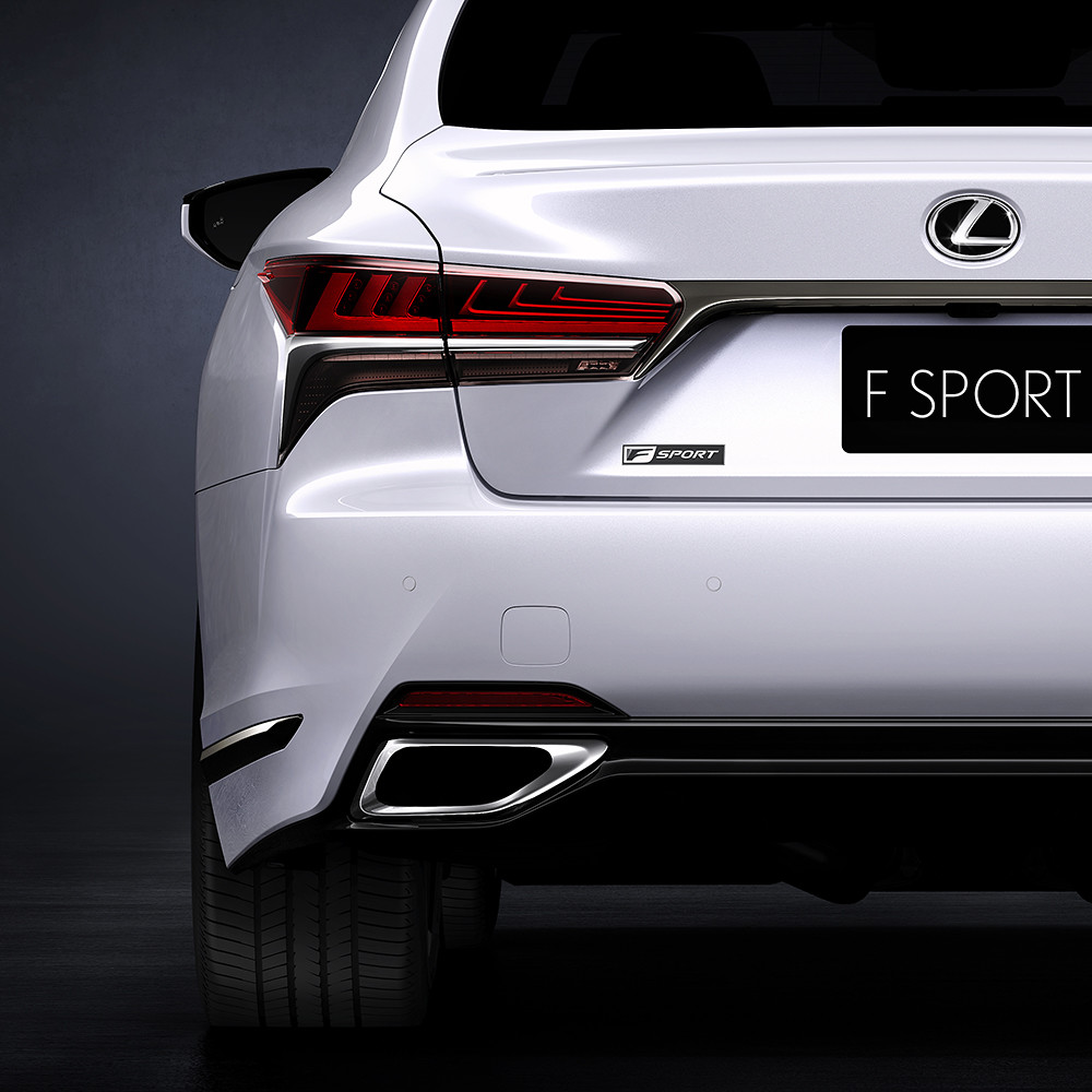 New Lexus LS 500 F SPORT to make global debut in New York