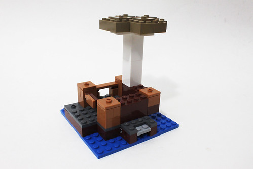 LEGO Minecraft The Mushroom Island (21129)