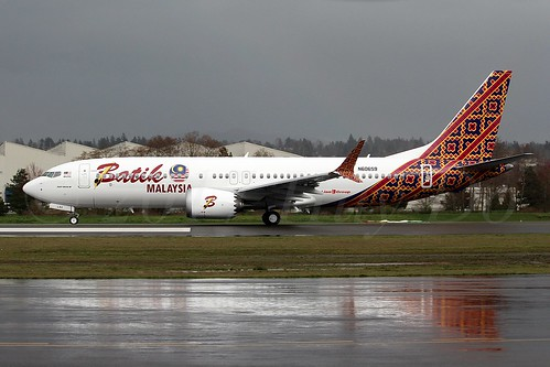 Tykes aero blog batik air malaysia 737 8 max 9m lrc first flight batik air malaysia 737 8 max 9m lrc first flight stopboris Image collections