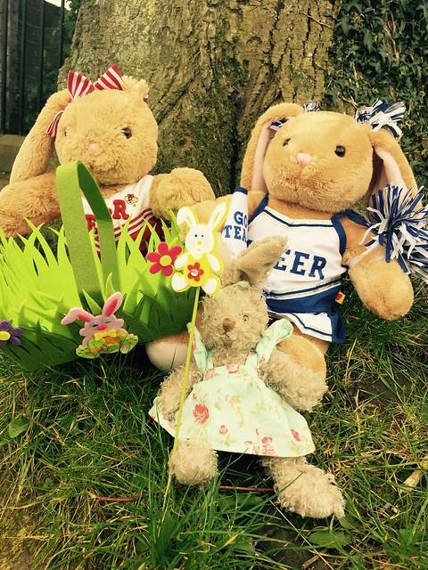 Infants enjoy an Easter Egg Hunt!