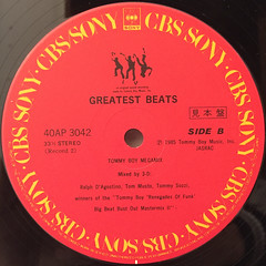 V.A.:TOMMY BOY GREATEST BEATS(LABEL SIDE-D)