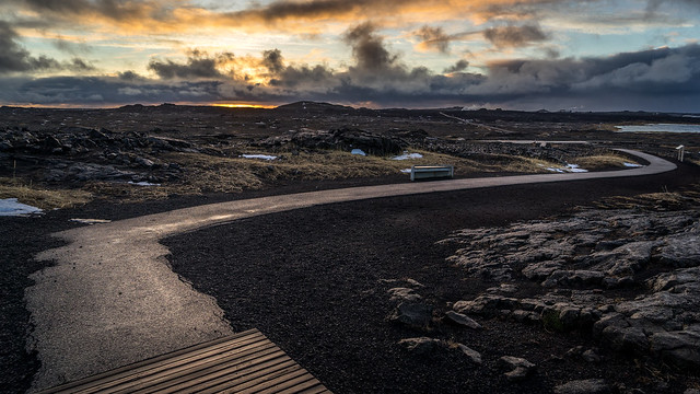 Sunrise in the Southern Peninsula - Sandvik, Iceland - Travel photography