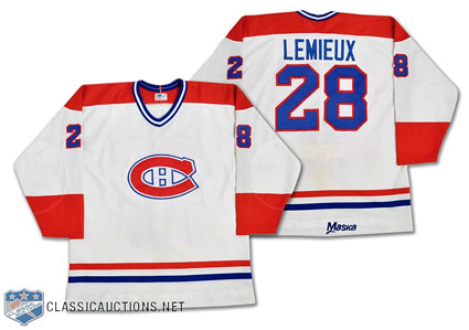 Montreal Canadiens 1983-84 jersey