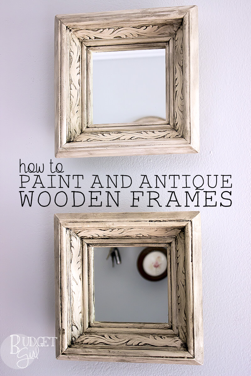 How to Get Distressed Picture Frames - Tastefully Eclectic