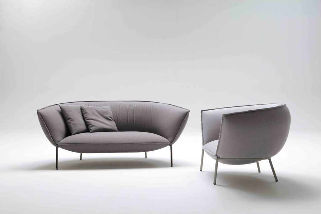 Comfortable modern sofa and lounge Chair by Luca Nichetto for Coedition Sundeno_01