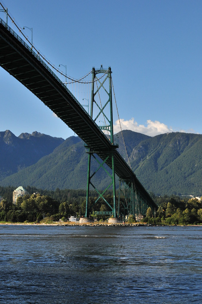 Lion's Gate Bridge, Vancouver