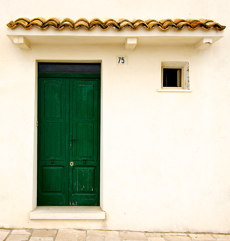 ... The Green Door   by kieranburgess  sc 1 st  Flickr & The Green Door   In the old centre of Termoli a medieval fo\u2026   Flickr