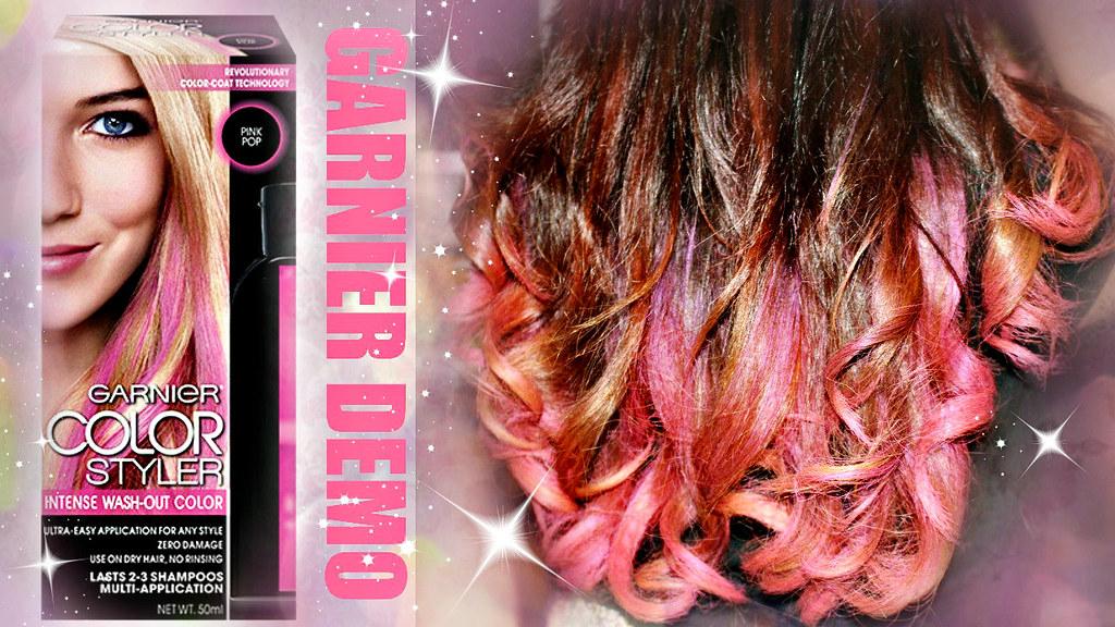 garnier color styler pink pop semi permanent by heyitsfeiii - Garnier Color Styler