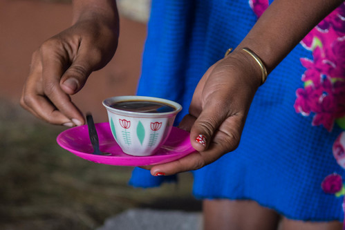 Serving coffee at Tiya | by Tanya R.