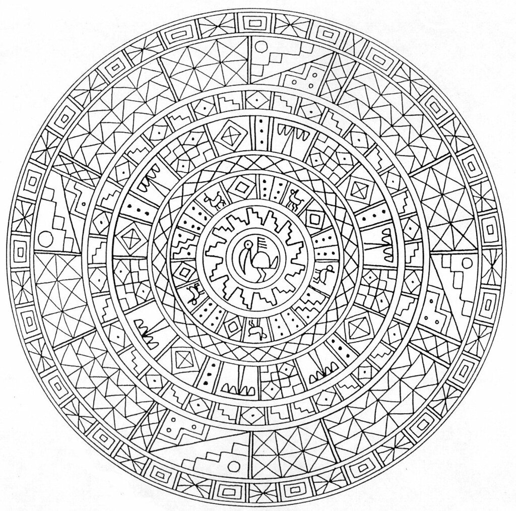 hd-coloring-pages-for-adult-Mystical Mandala Coloring Book… | Flickr