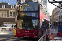 Alexander Dennis Trident Enviro 400 - LJ59 LZN - T92 - Arriva - Liverpool Street London - 140926 - Steven Gray - IMG_0275