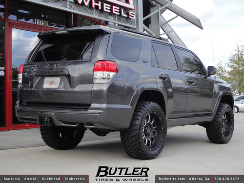 Toyota 4Runner with 20in Black Rhino Armour Wheels | Flickr