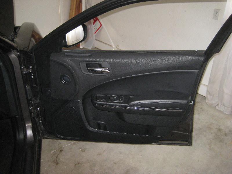 ... 2014 Dodge Charger Plastic Interior Door Panel   Remove To Upgrade OEM  Speaker | By Paul79uf