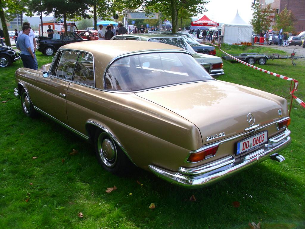 Mercedes Benz 250 Se Coupe 1966 Youngtimer Show Zeche Ewal Flickr