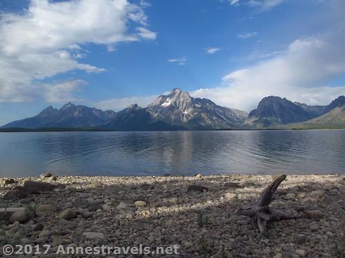 Along the Lakeshore Trail, Grand Teton National Park, Wyoming