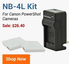 NB-4L Combo Kit