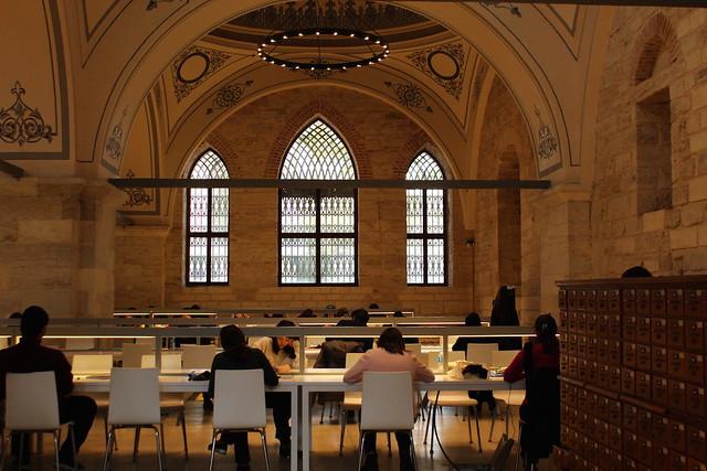 巴耶濟德圖書館閱覽室