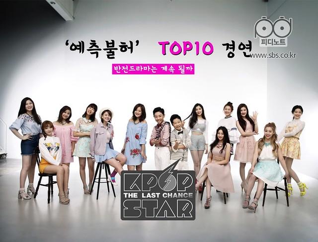 KPOP Star6 TOP10