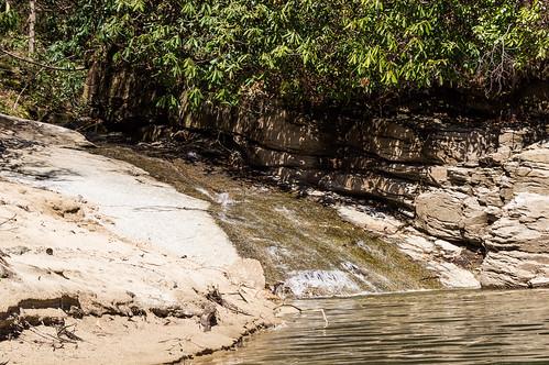 Jackies Branch waterfall - 1
