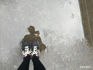 CIRCLEG 遊記 香港 石峽尾 南山邨 天空之鏡 倒影 特色邨屋 彩虹  (21)