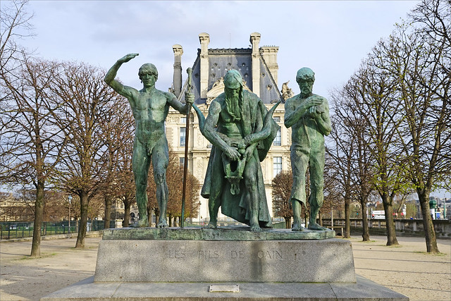 Les fils de Caïn de Paul Landowski (Paris)