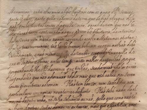 Carta ânua de Cristovão Ferreira (1618)