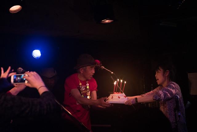 Yoshimitsu Kasuga's 60th birthday live at Manda-La 2, Tokyo, 03 Apr 2017 -00322