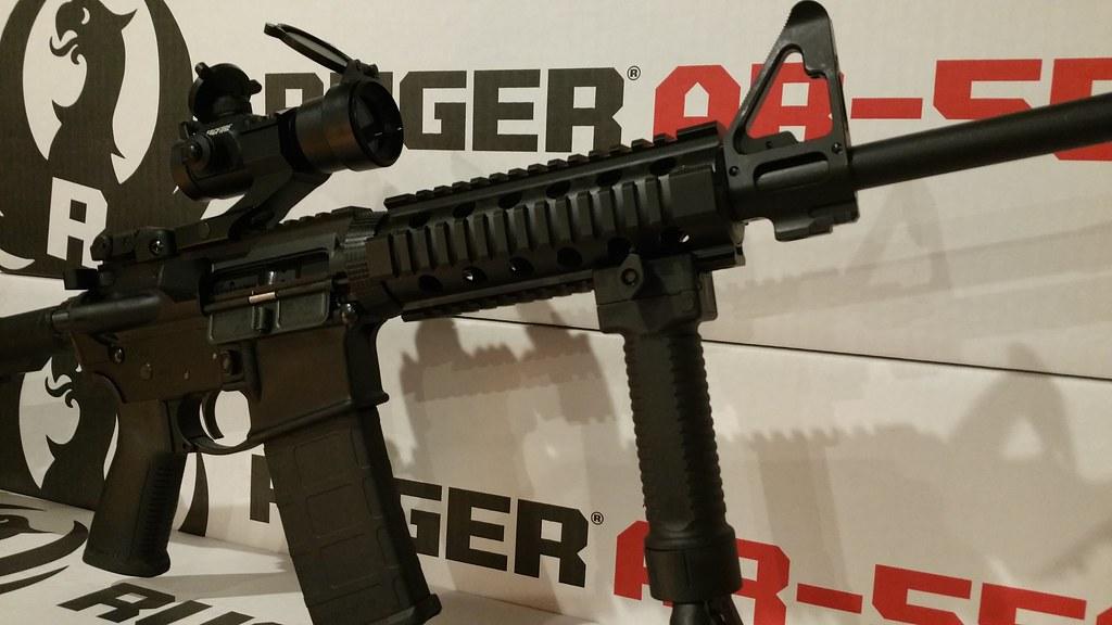 Ruger AR556 red dot