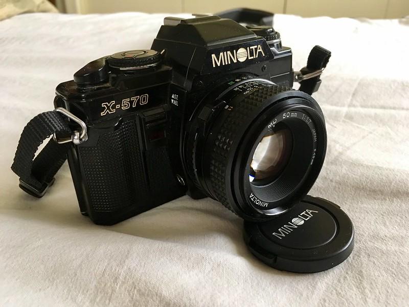 My Minolta X-570