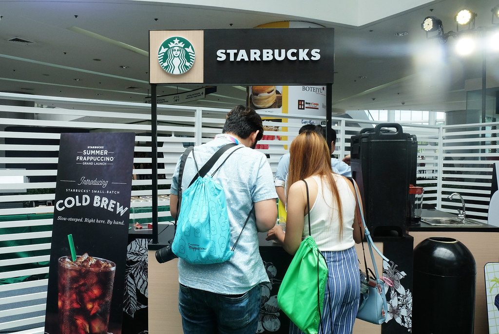 Patty Villegas - The Lifestyle Wanderer - Starbucks - Philippines - Frappuccino - Grand Launch - Mall of Asia Atrium - Pop'zel Coffee -10