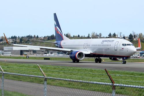 Boeing 737-8MC(WL) Aeroflot - Russian Airlines VP-BMM LN6357